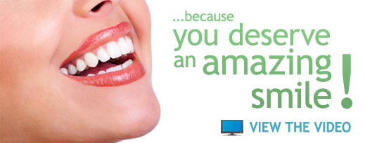 Because you deserve an amazing smile!
